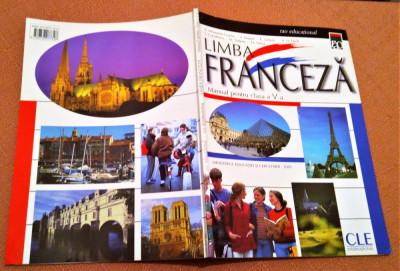 Limba Franceza. Manual pentru clasa a V-a - A. Monnerie-Goarin, S. Coculescu foto