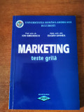 Marketing - teste grila - Ion Smedescu, Eugen Ghinea