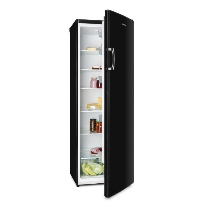 Klarstein Bigboy, frigider, 323 l, compartiment crisper, 6 niveluri, clasa de eficiență energetică A +, negru