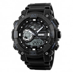 Ceas Barbatesc SKMEI CS877, curea silicon, digital watch, functie cronometru, alarma