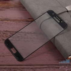 Geam Folie Sticla Protectie Display Samsung Galaxy A3 / A320 Acoperire Completa Neagra 6D