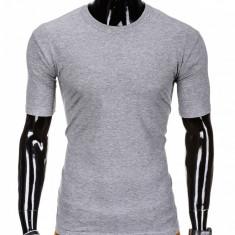 Tricou barbati, bumbac - S970-gri