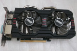 Placa video ASUS Radeon R7 260X OC DirectCU II 1GB GDDR5 128-bit