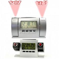 Ceas cu proiectie ora si temperatura 2 proiectoare DS503