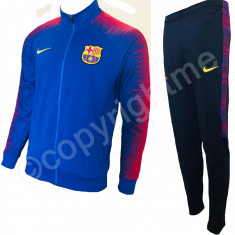Trening cu pantaloni conici FC BARCELONA model 2019 SUPER CALITATE