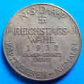 1932 Adolf Hitler NSDAP Reichstags Wahl  36mm