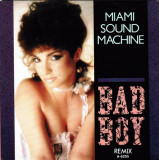 Miami Sound Machine - Bad Boy (Remix 1985, Epic) Disc vinil single 7""
