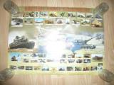 Afis cu Echipament Militar al Armatei Britanice ,dim.= 70x50cm