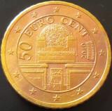 Moneda 50 EURO CENTI - AUSTRIA, anul 2010  *cod 5019