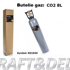 Butelie 8 litri, incarcata cu CO2 KraftDele KD1831
