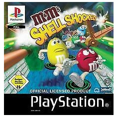M&M's: Shell Shocked   - PS1 [Second hand], Single player, Actiune, Toate varstele