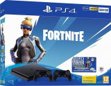 Consola SONY PlayStation 4 Slim (PS4 Slim) 500GB, Jet Black Fortnite Neo Versa Bundle + Extra controller