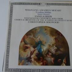 Mozart - motete -Hogwood