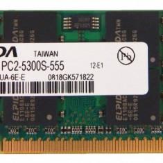 Memorii Laptop Elpida 2GB DDR2 PC-5300S 667Mhz