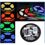 Cumpara ieftin Banda RGB Led, cu telecomanda si joc de lumini spectaculos