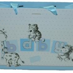 Punga pentru cadouri-Midex Baby Boy PCM8-A, Albastru