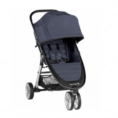 Carucior Baby Jogger City Mini 2 Carbon, centura siguranta cu prindere in 5 puncte, negru