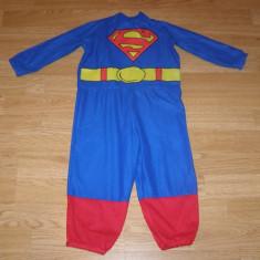 Costum carnaval serbare superman pentru copii de 2-3 ani, Din imagine