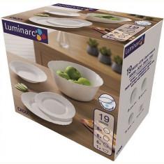Set serviciu masa portelan 19buc.Luminarc Cadix Handy KitchenServ