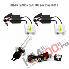 Set xenon H7 CAMION CAN-BUS 24V 35W 6000K