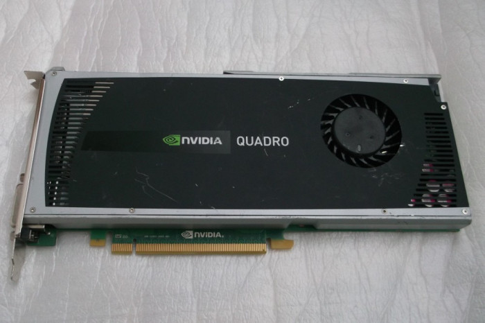 Placa Video Profesionala  nVidia Quadro 4000 GDDR5, 2 GB, 256-Bit
