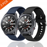2x Curea silicon 22mm Samsung Galaxy Watch 3 45mm, 46mm, Gear S3, Huawei GT 2