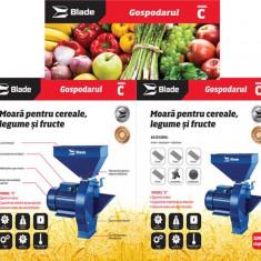 Moara pentru maruntit cereale, legume, fructe 2.7 Kw Blade