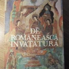 DE ROMANEASCA INVATATURA - SILVESTRU BOATCA, GEORGE SOVU