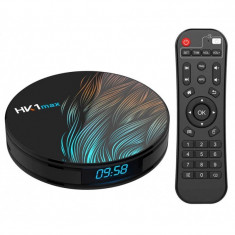 TV Box HK1 Max RK3318 2.4GHz Android 9.0 KODI 18.0, 2GB RAM si 16GB ROM, UltraHD 4K, Mini PC cu WiFi