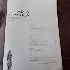 REVISTA ARTA PLASTICA NR.3/1966