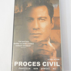 Caseta video VHS originala film tradus Ro - Proces Civil