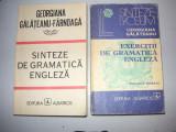 Georgiana Galateanu- Sinteze de gramatica engleza+exercitii de gramatica (2 vol)