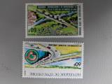Coasta de fildes - Timbre trenuri, locomotive, cai ferate, nestampilate MNH, Nestampilat