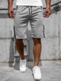 Cumpara ieftin Pantaloni scurți gri bărbați Bolf JX385