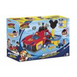 Garaj Mickey Roadster Racers, accesorii incluse, 3 ani+