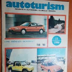 revista autoturism noiembrie 1990