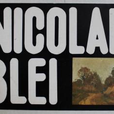 NICOLAE BLEI , CATALOG DE EXPOZITIE , GALERIA EFORIE , DECEMBRIE , 1982