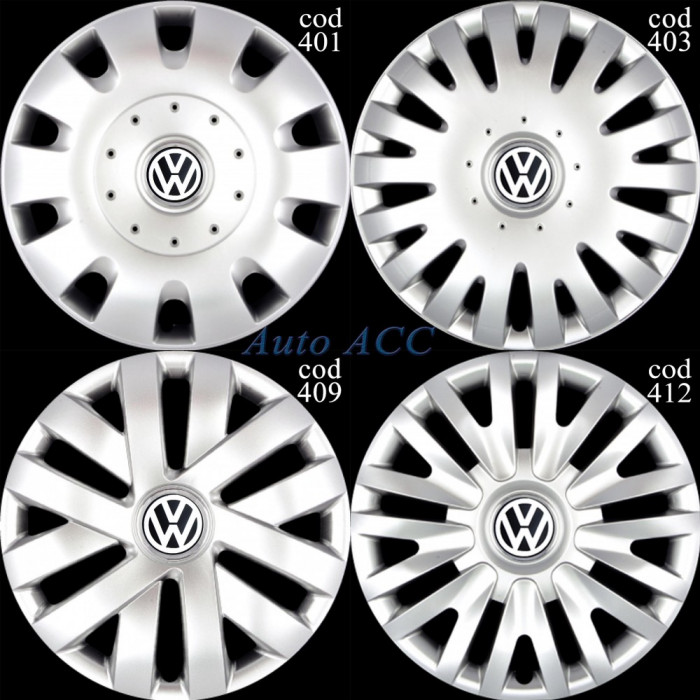 Capace roti 16 VW Sharan, Touran, Caddy, Tiguan, Transporter T5 T6