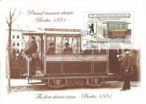 Romania, LP 1843/2009, Tramvaie electrice, colita dantelata, oblit., Stampilat