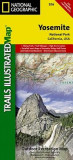 Yosemite National Park: Trails Illustrated - National Park Maps