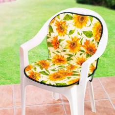 Perna scaun cu spatar Floarea soarelui