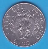 (M1219) MONEDA VATICAN - 100 LIRE 1989, PAPA IOAN PAUL AL II-LEA