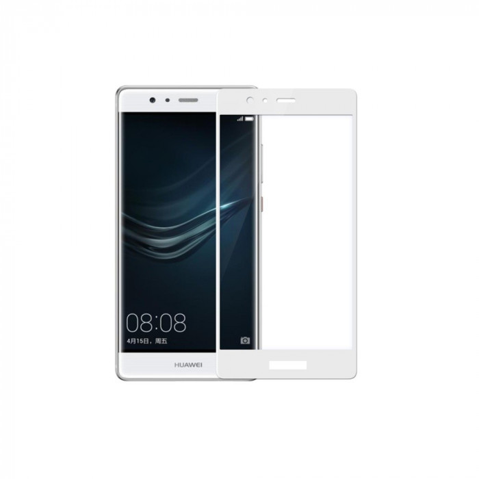 Tempered Glass - Ultra Smart Protection Huawei P9 Fulldisplay alb