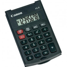 Calculator buzunar canon as8 8 digiti display lcd alimentare baterie