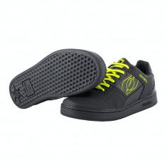 Pantofi Ciclism O Neal Pinned Flat Galben Neon 42