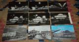 lot 58 carti postale tematica feroviara trenuri CFR gari locomotive