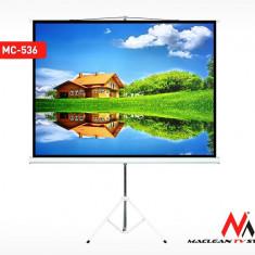 Ecran de Proiectie 72 Inch cu Suport Trepied, Format 4:3, Dimensiuni 145x110cm