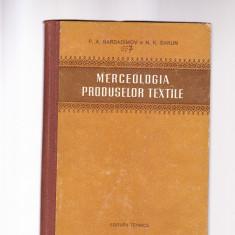 MERCEOLOGIA PRODUSELOR TEXTILE