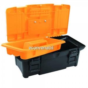 Cutie din plastic pentru unelte 34x18x13cm 80190