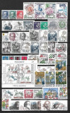 1375B - Lot timbre Suedia stampilat,anul 1986 complet,perfecta stare
